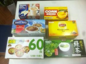 間藤さんから社長の買ってきたスープ